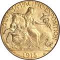 Commemorative Gold, 1915-S $2 1/2 Panama-Pacific Quarter Eagle MS65 PCGS....