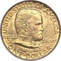 Commemorative Gold, 1922 G$1 Grant with Star MS64 PCGS. CAC....