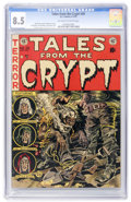 Golden Age (1938-1955):Horror, Tales From the Crypt #30 (EC, 1952) CGC VF+ 8.5 Off-white to whitepages....