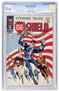 Strange Tales #167 (Marvel, 1968) CGC NM+ 9.6 Off-white pages