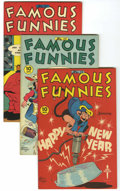 Golden Age (1938-1955):Miscellaneous, Famous Funnies #138-140 and 148 File Copies Group (Eastern Color, 1946) Condition: Average VF+.... (Total: 4 Comic Books)