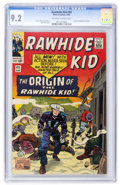 Silver Age (1956-1969):Western, Rawhide Kid #45 (Marvel, 1965) CGC NM- 9.2 Off-white to whitepages....