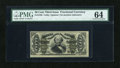 Fractional Currency:Third Issue, Fr. 1335 50c Third Issue Spinner PMG Choice Uncirculated 64....
