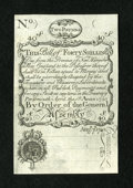 Colonial Notes:New Hampshire, New Hampshire April 1, 1737 Redated August 7, 1740 40s CohenReprint Choice About New....