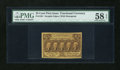 Fractional Currency:First Issue, Fr. 1281 25c First Issue PMG Choice About Unc 58 EPQ....