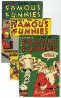 Golden Age (1938-1955):Miscellaneous, Famous Funnies File Copies Group (Eastern Color, 1949-50) Condition: Average VF/NM.... (Total: 5 Comic Books)