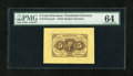 Fractional Currency:First Issue, Fr. 1231SP 5c First Issue Wide Margin Face PMG Choice Uncirculated 64....