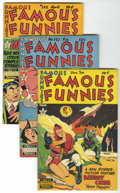 Golden Age (1938-1955):Miscellaneous, Famous Funnies #191-195 File Copies Group (Eastern Color, 1950-51) Condition: Average VF/NM.... (Total: 5 Comic Books)