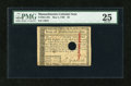 Colonial Notes:Massachusetts, Massachusetts May 5, 1780 Hole Cancel $8 PMG Very Fine 25....