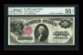 Fr. 35 $1 1880 Legal Tender Courtesy Autograph PMG About Uncirculated 55 EPQ
