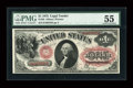 Fr. 26 $1 1875 Legal Tender PMG About Uncirculated 55