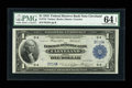 Fr. 718 $1 1918 Federal Reserve Bank Note PMG Choice Uncirculated 64 EPQ