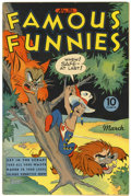 Golden Age (1938-1955):Miscellaneous, Famous Funnies #116 (Eastern Color, 1944) Condition: VF/NM....