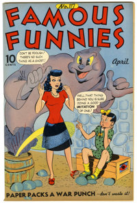 Famous Funnies #117 (Eastern Color, 1944) Condition: VF/NM