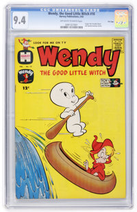 Wendy, the Good Little Witch #10 File Copy (Harvey, 1962) CGC NM 9.4 Off-white to white pages