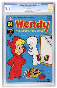 Wendy, the Good Little Witch #7 File Copy (Harvey, 1961) CGC NM- 9.2 Off-white pages