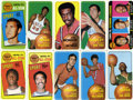 Basketball Cards:Lots, 1970/71 Topps Basketball Group of (10) Including HoFers! ...