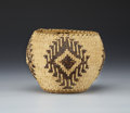 American Indian Art:Baskets, A NORTHERN CALIFORNIA TWINED BASKET. c. 1920...