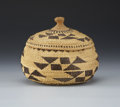 American Indian Art:Baskets, A NORTHERN CALIFORNIA TWINED BASKET. c. 1900...