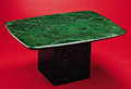 Lapidary Art:Tables / Tabletops, FINE JADE TABLETOP. ... (Total: 2 Items)