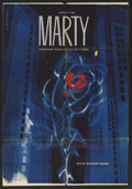 "Movie Posters:Academy Award Winner, Marty (United Artists, R-1961). Czech Poster (23"" X 33""). AcademyAward Winner...."
