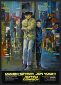 "Movie Posters:Academy Award Winner, Midnight Cowboy (United Artists, 1969). German A1 (23"" X 33""). Academy Award Winner...."