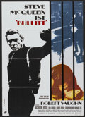 "Movie Posters:Action, Bullitt (Warner Brothers, 1969). German A1 (23.25"" X 33"").Action...."