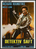 "Movie Posters:Blaxploitation, Shaft (MGM, 1971). Yugoslavian Poster (19.5"" X 27"").Blaxploitation...."