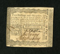 Colonial Notes:Pennsylvania, Pennsylvania April 3, 1772 2s/6d Signed by Adam Hubley Choice AboutNew....