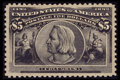 Stamps, #245, 1893, $5 Black, XF-S 95 PSE. (Original Gum - Previously Hinged)....