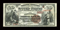 National Bank Notes:Pennsylvania, Philadelphia, PA - $20 1882 Brown Back Fr. 496 The Fourth Street NBCh. # 3557. ...