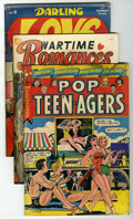 "Golden Age (1938-1955):Romance, Miscellaneous Golden Age Romance Group - Davis Crippen (""D"" Copy)pedigree (Various Publishers, 1945-51) Condition: Average FR...(Total: 7)"