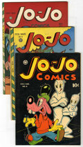 "Golden Age (1938-1955):Funny Animal, Jo-Jo Comics #4-6 Group - Davis Crippen (""D"" Copy) pedigree (FoxFeatures Syndicate, 1946).... (Total: 3)"