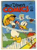 Golden Age (1938-1955):Cartoon Character, Walt Disney's Comics and Stories #42 (Dell, 1944) Condition: VG+....