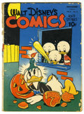Golden Age (1938-1955):Cartoon Character, Walt Disney's Comics and Stories #38 (Dell, 1943) Condition:FR/GD....