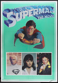"""Movie Posters:Action, Superman the Movie (Warner Brothers, 1978). Posters (2) (21"""" X 30"""")Mylar. Action.... (Total: 2 Items)"""