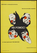 """Movie Posters:Rock and Roll, Help! (United Artists, 1965). Polish Poster (23"""" X 33""""). Rock andRoll...."""