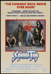 """This is Spinal Tap (Embassy, 1984). One Sheet (27"""" X 41""""). Comedy"""