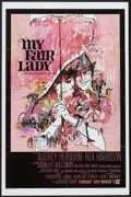 "Movie Posters:Musical, My Fair Lady (Warner Brothers, 1964). One Sheet (27"" X 41""). Musical...."