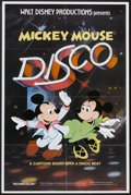 "Movie Posters:Animated, Mickey Mouse Disco (Buena Vista, 1980). One Sheet (27"" X 41"").Animated...."
