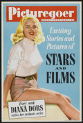 "Movie Posters:Adventure, Diana Dors Promotional Poster (Picturegoer, 1950s). British Poster(20"" X 30""). Adventure...."