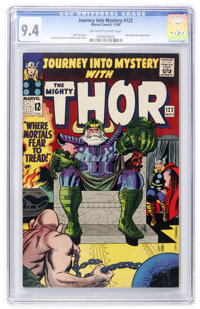 Journey Into Mystery #122 (Marvel, 1965) CGC NM 9.4 Off-white to white pages