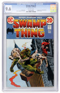 Bronze Age (1970-1979):Horror, Swamp Thing #2 (DC, 1973) CGC NM+ 9.6 Off-white pages....