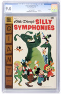 Golden Age (1938-1955):Funny Animal, Dell Giant Comics Silly Symphonies #7 File Copy (Dell, 1957) CGCVF/NM 9.0 Off-white pages....