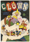 Golden Age (1938-1955):Cartoon Character, Clown Comics #nn (#1) Library of Congress Copy (Harvey, 1945)Condition: FN/VF....
