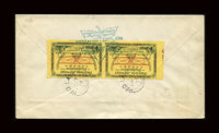 Unitrade #CL13a, 1913, 25c Yellow Green. (Used)