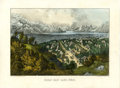 "Antiques:Posters & Prints, Currier & Ives ""Great Salt Lake, Utah"" Hand-Colored Lithograph,circa 1870s...."