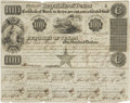 "Miscellaneous:Ephemera, Republic of Texas $100 Stock Certificate issued to John Rice Jones,a boyhood friend of Stephen F. Austin. One page, 10""..."