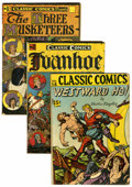 Golden Age (1938-1955):Classics Illustrated, Classic Comics Group (Gilberton, 1945-46).... (Total: 5 ComicBooks)