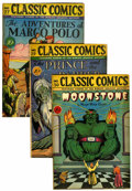 Golden Age (1938-1955):Classics Illustrated, Classics Illustrated Group (Gilberton, 1946).... (Total: 7 ComicBooks)
